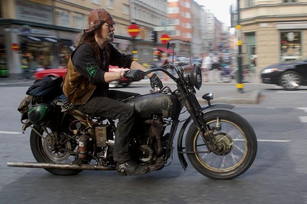 Sthlm, 2012: Dirt biker