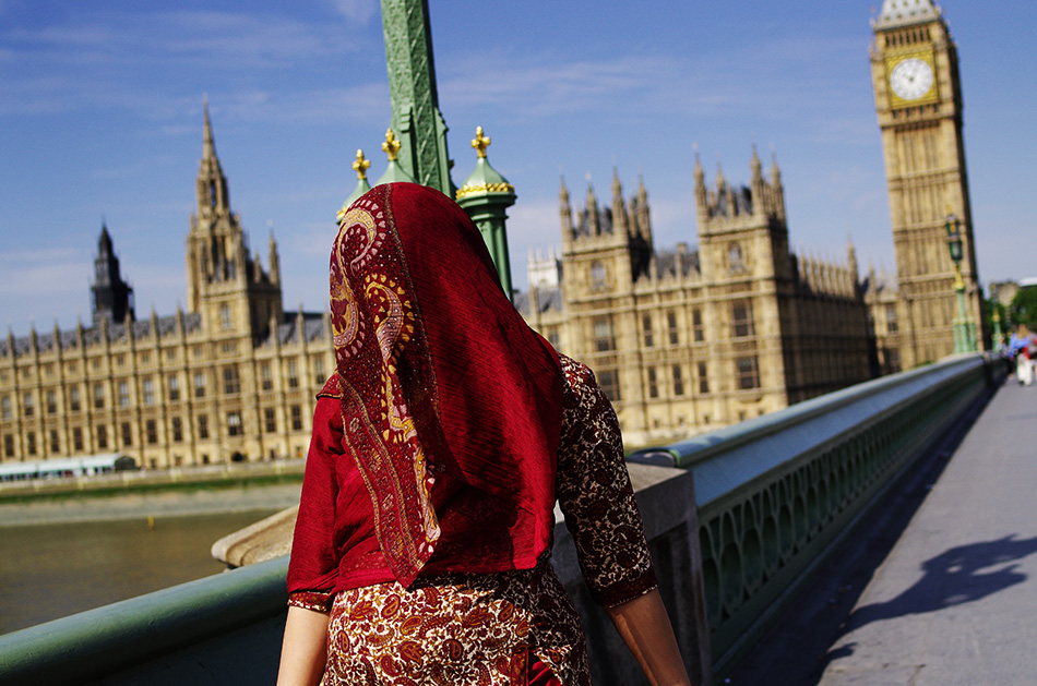 London, 2011: Taking the veil