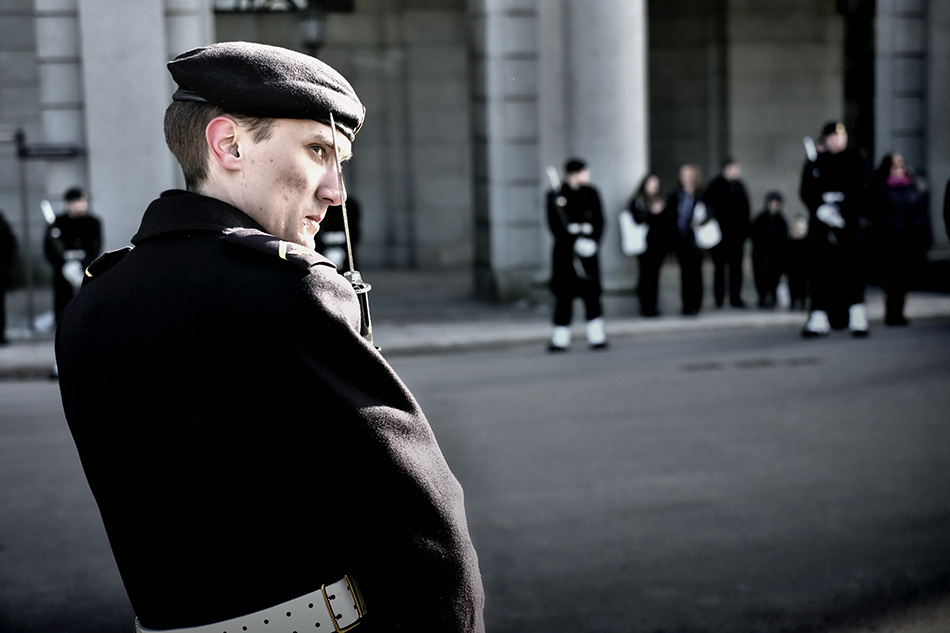Sthlm, 2013: Guard of honor