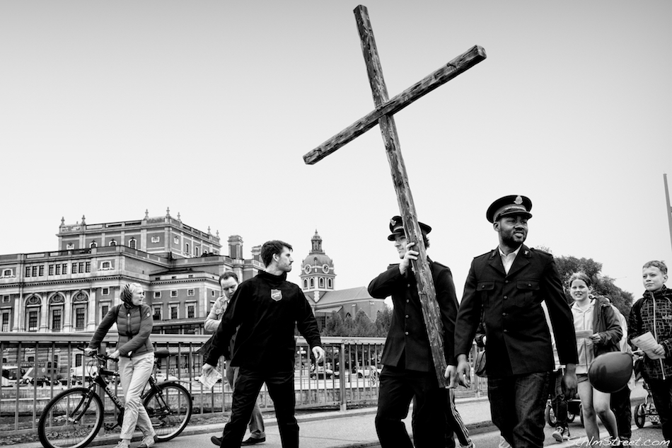 Sthlm, 2013: Marching or Jesus