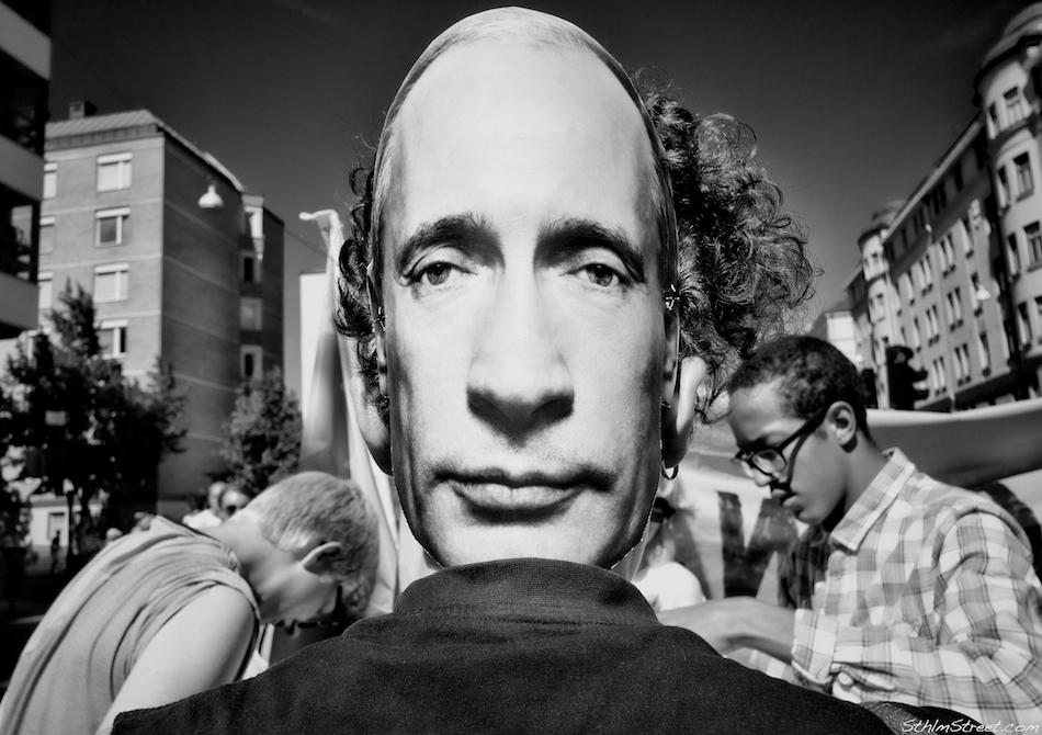 Sthlm, 2013: Hey, Putin