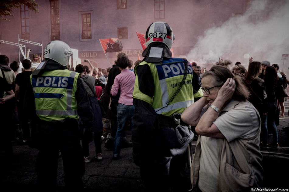 Sthlm, 2013: In a democracy