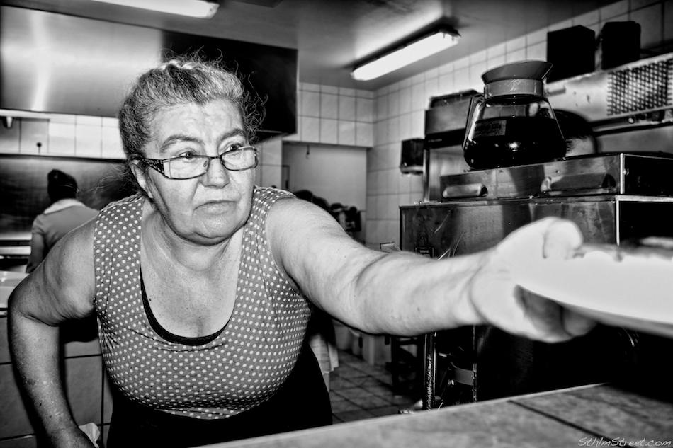 Västerås, 2014: Diner
