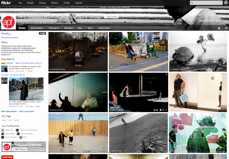 Flickr: The APF Flickr pool